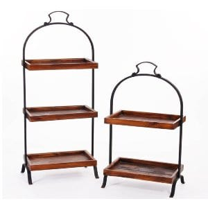 Rustic Dumbwaiter Two Tier