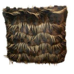 Brown Black Fur