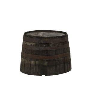 Whiskey Half Barrel Side Table