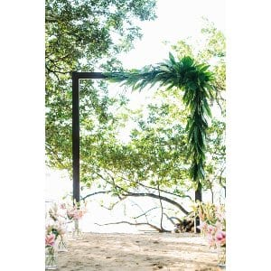 Large Wood Frame Arch