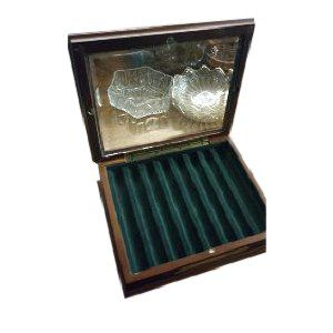 Vintage Window Cigar Box