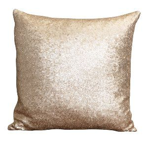 Champagne Sequin Pillow