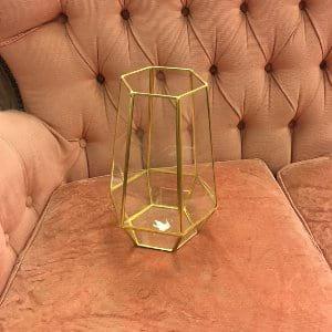 Large Geometric Vase