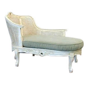 Antoinette Cane Chaise
