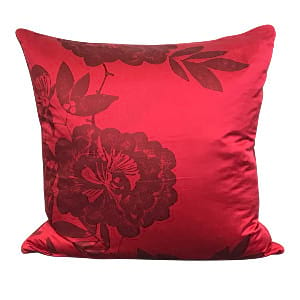 Red Asian Pillow