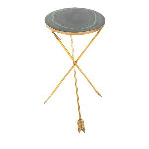 Agate and Arrow Side Table