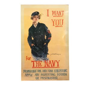 Navy Wants You Poster