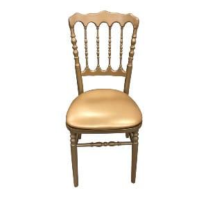 Gold Napoleon Chair