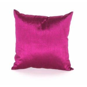 Raspberry Silk Pillow