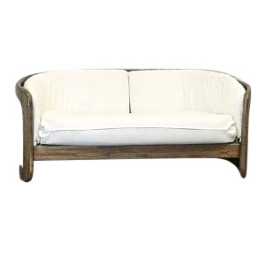Annie Barrel Love Seat