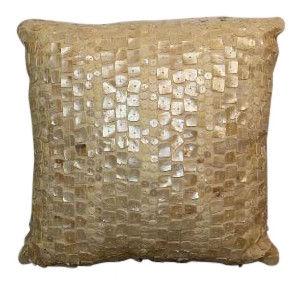 Ivory Capiz Shell Pillow