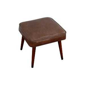 Stanley Leather Stool