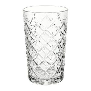 Patterened Water Glass