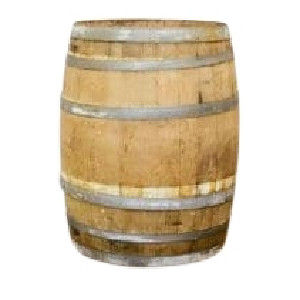 French Oak Wine Barrell