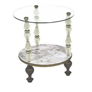 Hollywood Regency Side Table
