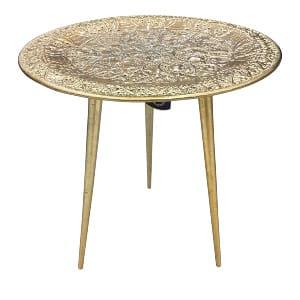 Gold Boho Side Table