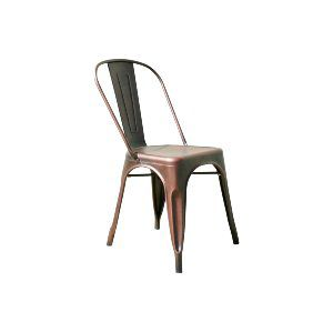 Burnt Copper Tolix Chairs