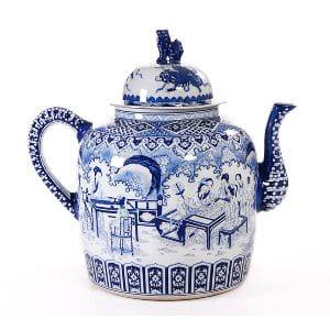 Oversized Ming Poreclain Teapot