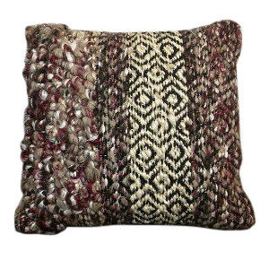 Purple Boho Pillow