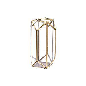 Avery Gold Geometric Lanterns