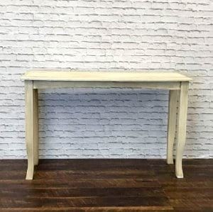 Ivory Sofa Table