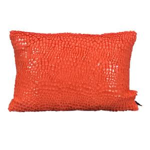 Orange Scale Pillow