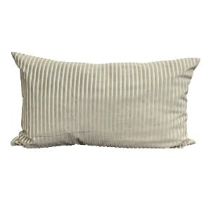 Sage Striped Pillow