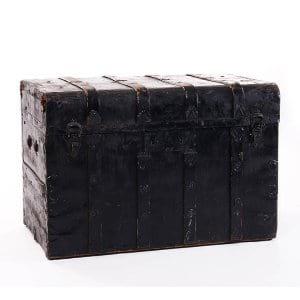 Black Vintage Trunk