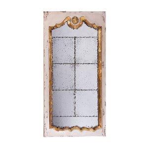 Antique Gold Leaf Floor Mirror
