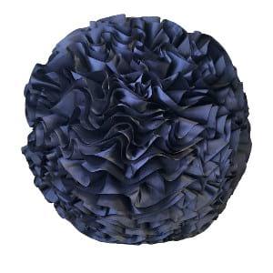 Blue Ruffle Ball