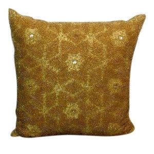 Gold Sequin Pillow 3