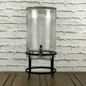 Rustic Can Beverage Dispenser