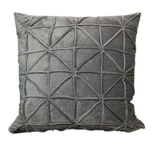 Grey Velvet Geometric