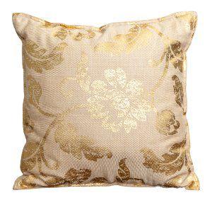 Gold Filligree Pillow