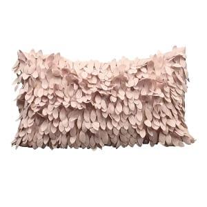 Blush Petal Pillow 2