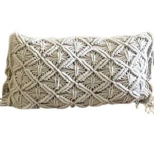 Crochet Fringe Pillow