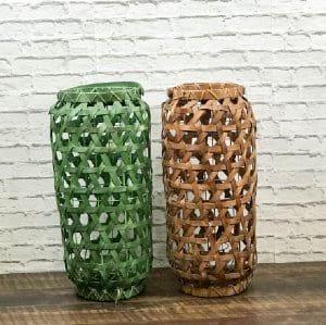 Gold Basket Lantern
