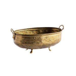 Brass Footed Bowl