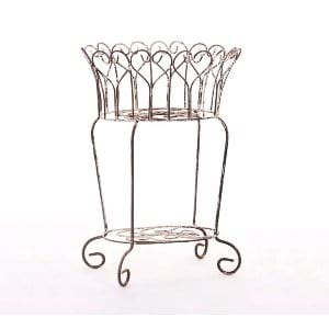 Wrought Iron Floral Iron