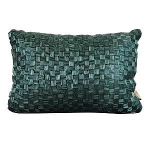 Emerald Green Textile Pillow