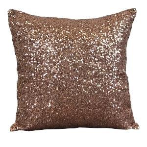 Pink Sequin Pillow