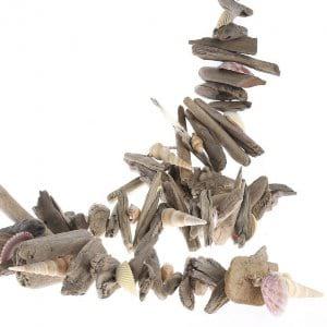 Driftwood Shell Garland