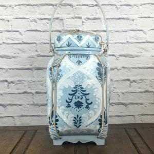 Blue and White Asian Basket 3