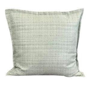 Teal Plaid Pillow