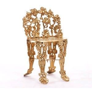 Gold Garden Children's Chair