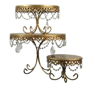 Goldie Cake Stand