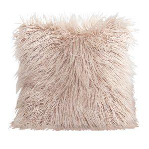 Blush Fur Pillow