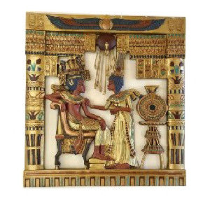 Guilded Egyptian Wall Art