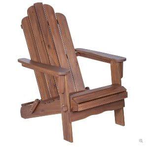 Dark WoodAdirondack Chair