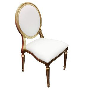 Gold Louis Chair